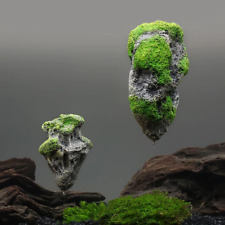 Decoration Aquarium Floating Rock Pumice Suspended Artificial Stone Fish Tank