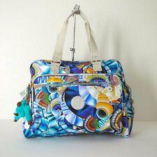 NWT Kipling Alanna Printed Baby Diaper Handbag Oceanic Day Dream Print