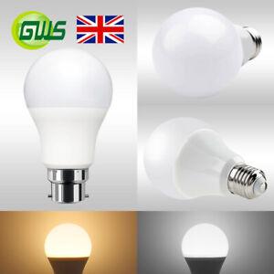 E27 Edison/B22 Bayonet LED Globe Golf Ball Light Bulb Warm/Cool White Energy A+
