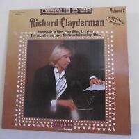 "33T Richard CLAYDERMAN Piano LP 12"" DISQUE D'OR Vol. 2 - DELPHINE IMPACT 6886911"