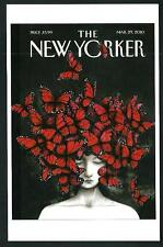 Ana Juan - Copertina per The New Yorker del 2010 - cartolina moderna