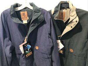 Browning Sporting Classics Jacket Navy Or Green NOS NWT Overstock Teflon Protect