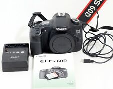 Canon EOS 60D 18.0 MP Digital SLR Camera Body ONLY 13K SHUTTER COUNT