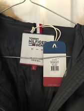 LADIES TOMMY HILFIGER QUILTED DOWN LONG COAT