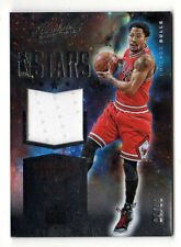DERRICK ROSE NBA 2015-16 ABSOLUTE MEMORABILIA NBA STARS MATERIALS (CHICAGO BULLS