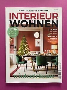 INTERIEUR & WOHNEN No.4/ 2020 .. Klassisch .. Modern .. Einrichten .. NEU!!!