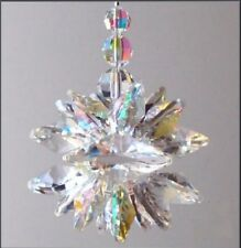 HUGE Extra Large Double Cluster Suncatcher Made With Swarovski Crystal, Gift Box