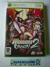 WARRIORS OROCHI 2  XBOX 360 MICROSOFT COMPLET PAL