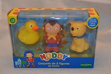 Noddy Bath Set of 3 Figures Noddy + Duck + Bumpy Water Squirts