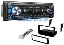 NEW POWER ACOUSTIK STEREO W/ INSTALL KIT W/ BLUETOOTH RADIO & AUX/USB INPUTS