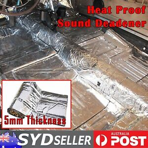 48Sqft Soundproofing Deadening Insulation Car Underfelt Under Floor Mat 190mil