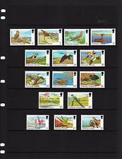 FALKLAND ISLS.  1998, RARE VISITING BIRDS, FULL SET, 15v., MNH
