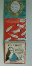 Ex-Libris Bookplates 80 Decorated & Assorted Sizes by Galison NYC NEW