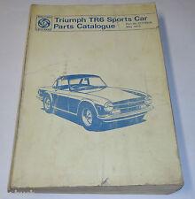 Teilekatalog / Parts List Triumph TR 6 / TR6, Stand 05/1973