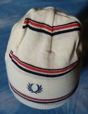 CAP beanie vintage 70's FRED PERRY TG.unica  RARE