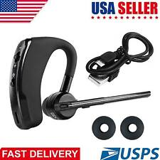 Bluetooth 4.0 Wireless Bussiness Work Earphone Headset For iOS & Android Phones