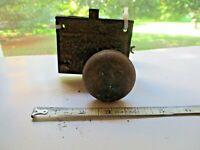 Vintage Antique Door Lock and latch for restoration or parts