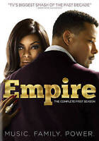 Empire: Season One (DVD, 2015, 4-Disc Set)