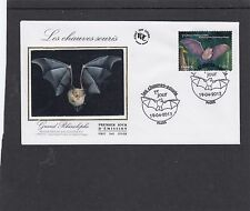 France 2013 Bats First Day Cover FDC Paris pictorial h/s