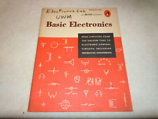 Basic Electronics.  An Allied Publication. First Edition 8th Printing April 1965