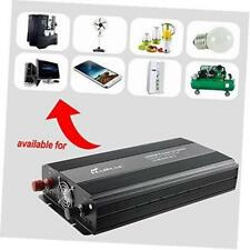 3000 watt power inverter 12 volt dc to 110 volt ac voltage car adapter, car
