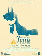 "116 The Legend of Zelda - Wind Waker Hot Game Art 14""x19"" Poster"