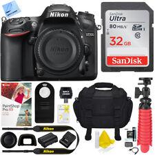 Nikon D7200 DX-Format 24.2MP Digital HD-SLR Body with 32GB Kit
