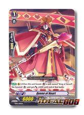Cardfight Vanguard  x 4 Queen of Heart - TD03/010EN - TD (common ver.) Pack Fres