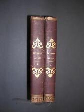 Voyage X.Marmier du Rhin au Nil 1846 récits de voyage reliés
