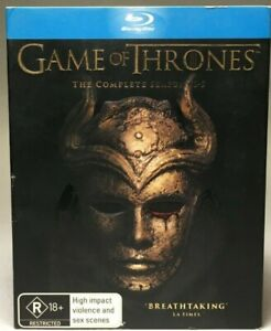GAME OF THRONES - BLU-RAY THE COMPLETE BOX SET - SEASONS 1-5 - 23 DISC SET