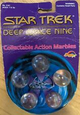 Star Trek Deep Space Nine Collectable Action Marbles (Spectra Star, 1993) Vintag
