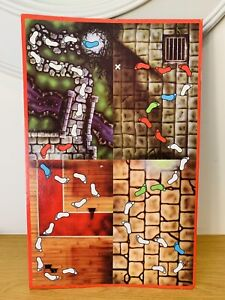 Ghost Castle -The Haunted House of Horror Spare Parts and Pieces - Game board
