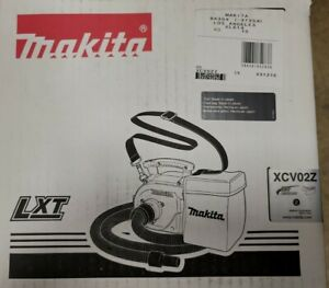 Makita 18V LXT Li-Ion Cordless 3/4 Gallon Portable Dry Dust Extractor XCV02Z NEW