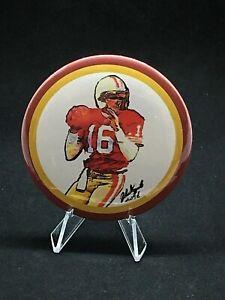 San Francisco 49ers Joe Montana pin/no clasp w/stand-4 desktops & Man Cave