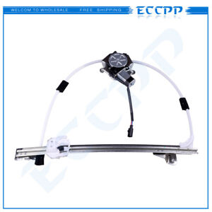 For 2006 2007 Jeep Liberty Rear Left Power Window Regulator With Motor
