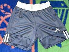 Adidas Women's Team 3G Reversible Basketball Shorts Small Gray White