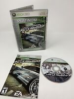 Need for Speed: Most Wanted (Microsoft Xbox 360) *COMPLETE w/ MANUAL & TESTED*