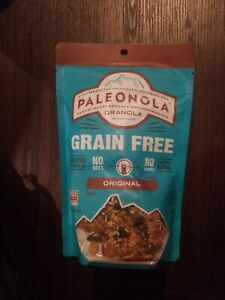 4 packs Paleonola granola and 4 packs ground flaxseed