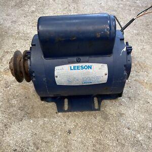 Leeson 115v Motor 1625/1350rpm 1/3hp JS56 Frame