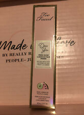 TOO FACED Dew You Fresh Glow Luminous Face Primer Radiant Caramel  NEW IN BOX