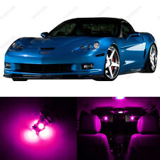 11 x Pink LED Interior Light Package For 2005 - 2013 Chevy Corvette C6 +PRY TOOL