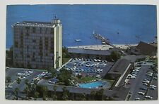Vtg Postcard CATAMARAN HOTEL on Mission Bay SAN DIEGO CALIFORNIA Pacific Posted