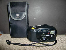 MINOLTA FREEDOM ACTION ZOOM QD 35MM FILM POINT & SHOOT CAMERA W/CARRYING CASE