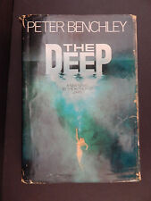 THE DEEP - Peter Benchley - SIGNED by author - FIRST EDITION