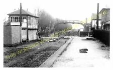 Wigston South Railway Station Photo. Leicester - Countesthorpe. Midland Rly. (2)