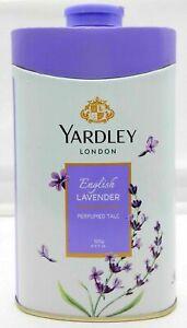 Yardley London Talco en polvo Lavanda inglesa Paquete de 100 gramos (3,5...