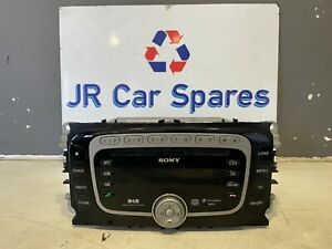 FORD SONY DAB CD MP3 RADIO PLAYER FOCUS MONDEO S MAX WITH CODE 8S7T-18C939-ME