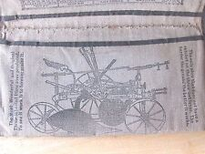 1901 NOTEBOOK COVER SATTLEY MFG CO SPRINGFIELD ILL FARM PLOWS PLANTERS ETC