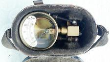 Original altes Kesseldruck-Prüfmanometer für Dampflokomotiven