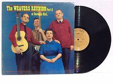THE WEAVERS reunion at carnegie hall part 2 LP NM+ VRS 9161 Vinyl LP 1965 mono